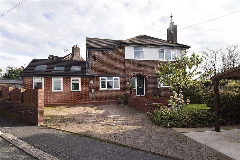 4 Bedrooms Detached House for sale in Hillcrest Road, Bollington, Macclesfield