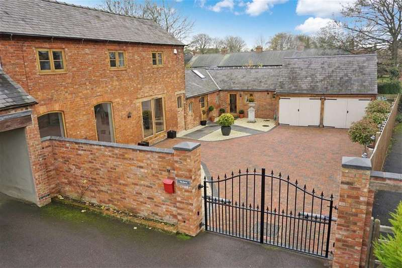 4 Bedrooms Barn Conversion Character Property for sale in Lutterworth Road, North Kilworth, Leicestershire