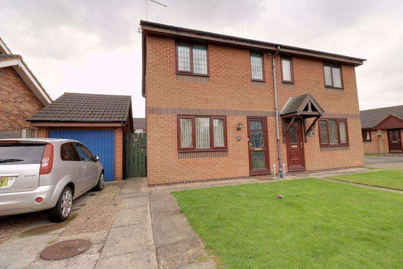 2 Bedrooms Semi Detached House for sale in Avenswood Lane, Scunthorpe