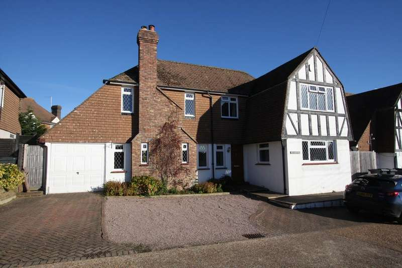 3 Bedrooms Detached House for sale in Lion Hill, Stone Cross, Pevensey BN24