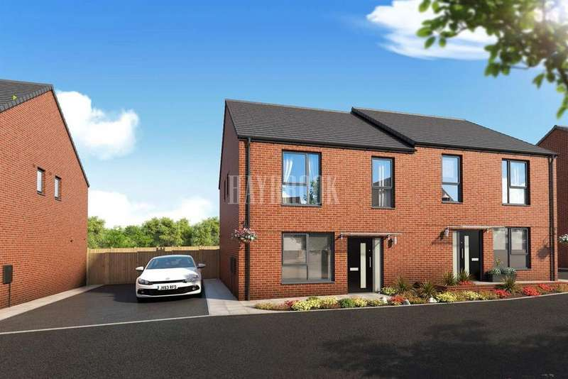 2 Bedrooms Semi Detached House for sale in Plot 17 The Foxhill, Earl Marshall Road, Sheffield