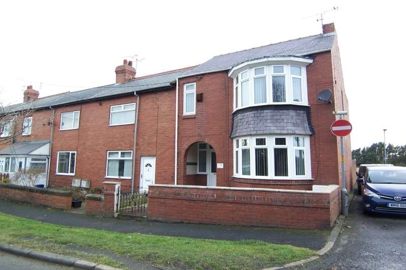 3 Bedrooms Terraced House for sale in Spring Ville, East Sleekburn, Bedlington, NE22