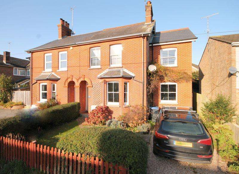 4 Bedrooms Semi Detached House for sale in Sunte Avenue, Lindfield, West Sussex