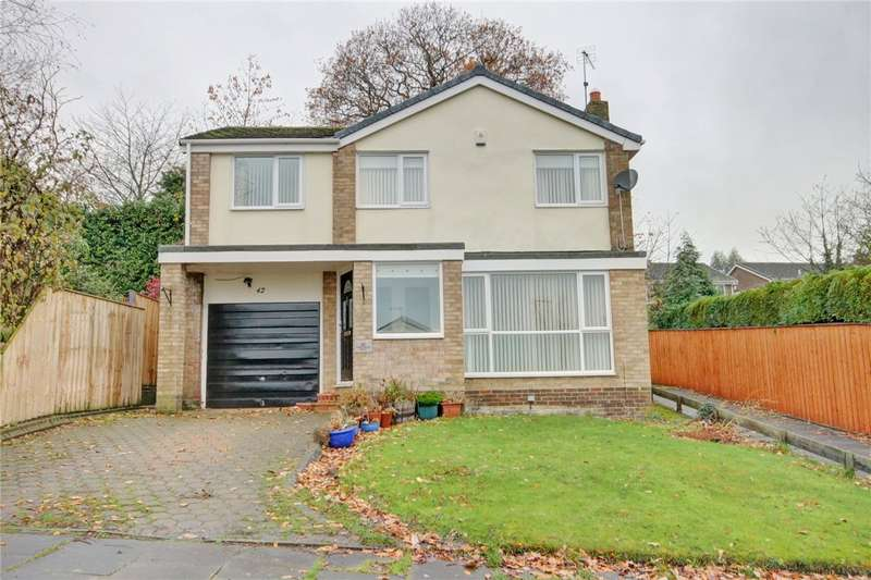 4 Bedrooms Detached House for sale in Barrasford Road, Newton Hall, Durham, DH1