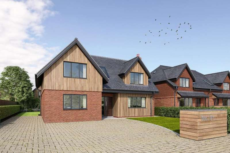 4 Bedrooms Detached House for sale in Burford Lane, Salisbury