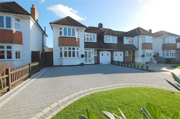 4 Bedrooms Semi Detached House for sale in Bourne Way, BROMLEY, Kent
