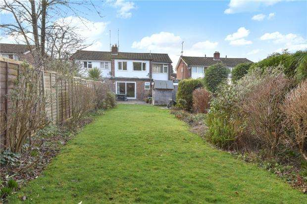 4 Bedrooms Semi Detached House for sale in Lyon Road, Crowthorne, Berkshire
