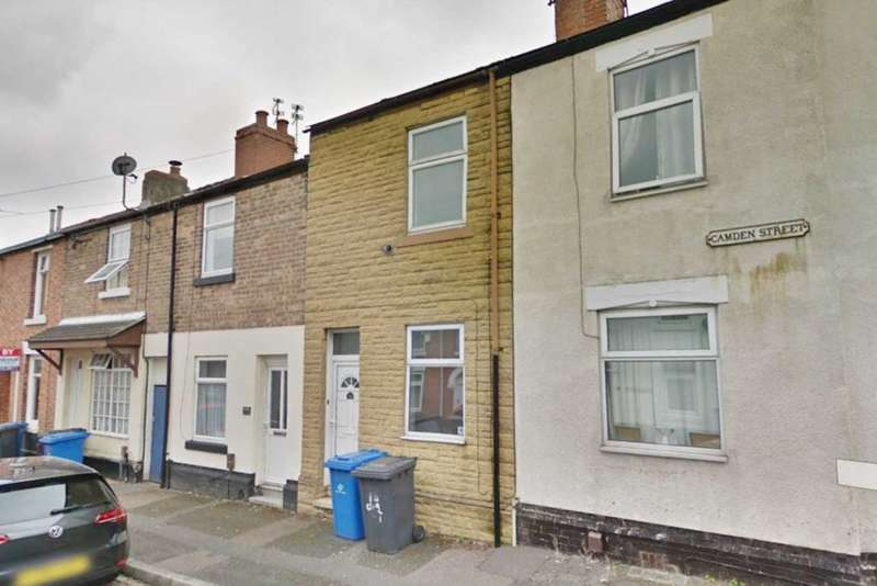 2 Bedrooms Terraced House for sale in Camden Street, Derby