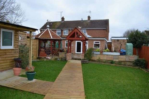 3 Bedrooms Semi Detached House for sale in Stockwell Way, Milton Malsor, Northampton NN7 3AL