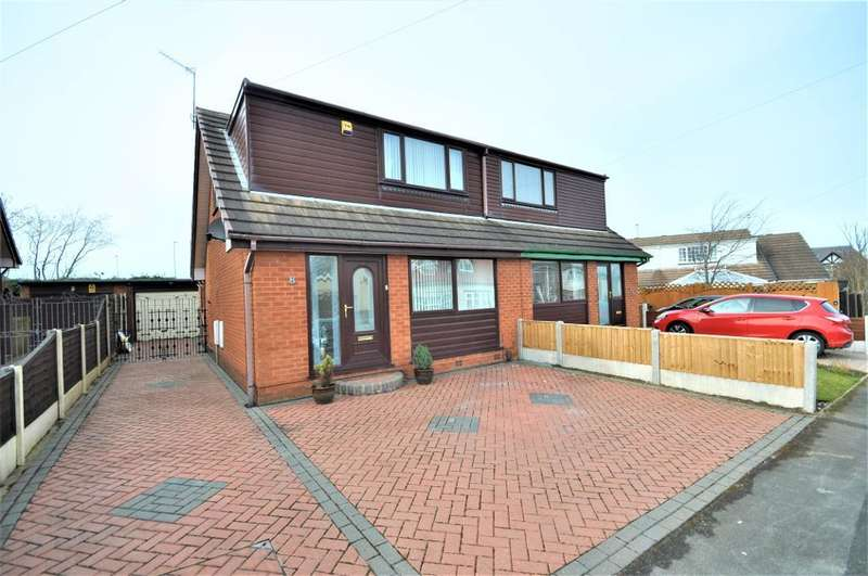 2 Bedrooms Semi Detached Bungalow for sale in Wembley Avenue, Layton, Blackpool, Lancashire, FY3 7DU