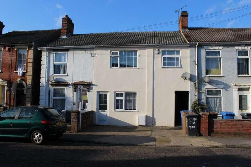 4 Bedrooms Terraced House for sale in Hampton Road, Ipswich IP1