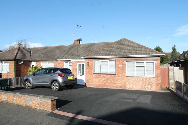 3 Bedrooms Semi Detached Bungalow for sale in Dorsett Road, Stourport-on-Severn, DY13