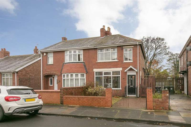2 Bedrooms Semi Detached House for sale in Highbury Place, North Shields