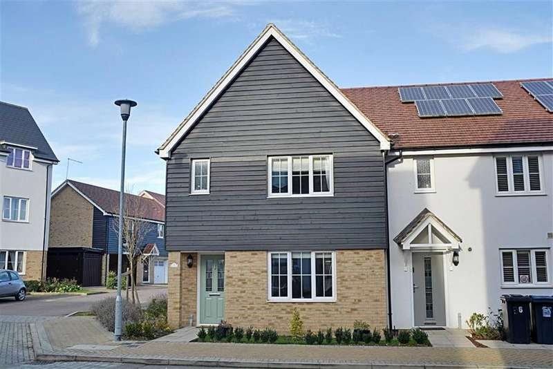 3 Bedrooms End Of Terrace House for sale in Buckwells Field, Bengeo, Herts, SG14