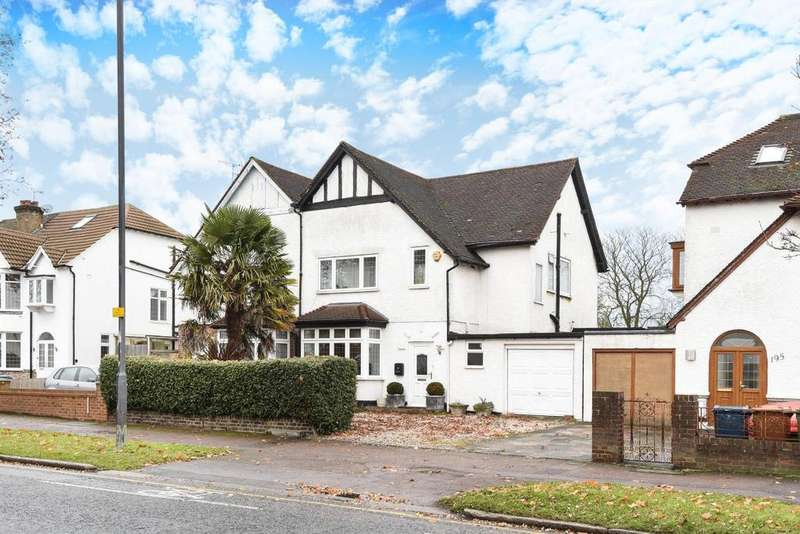 3 Bedrooms Semi Detached House for sale in Whitchurch Lane, Canons Park