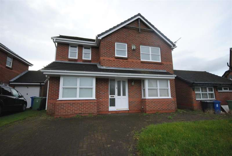 4 Bedrooms Detached House for sale in Burley Crescent, Winstanley, Wigan