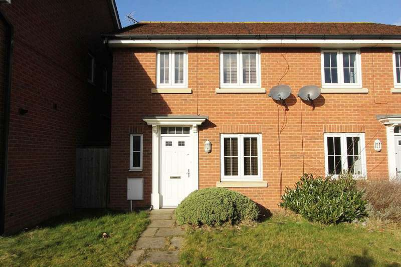 3 Bedrooms Semi Detached House for sale in Sanderling Way, Forest Town, Mansfield, Nottinghamshire, NG19 0GH