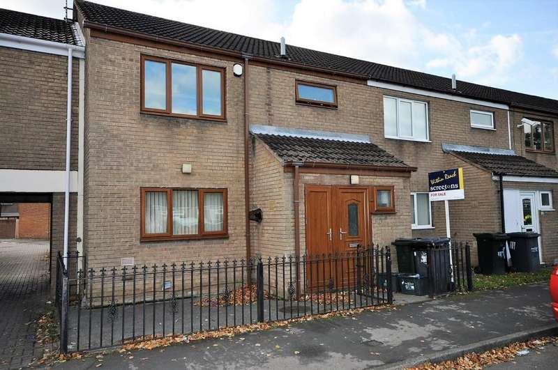 3 Bedrooms Town House for sale in Broadwater Drive, Dunscroft, Doncaster