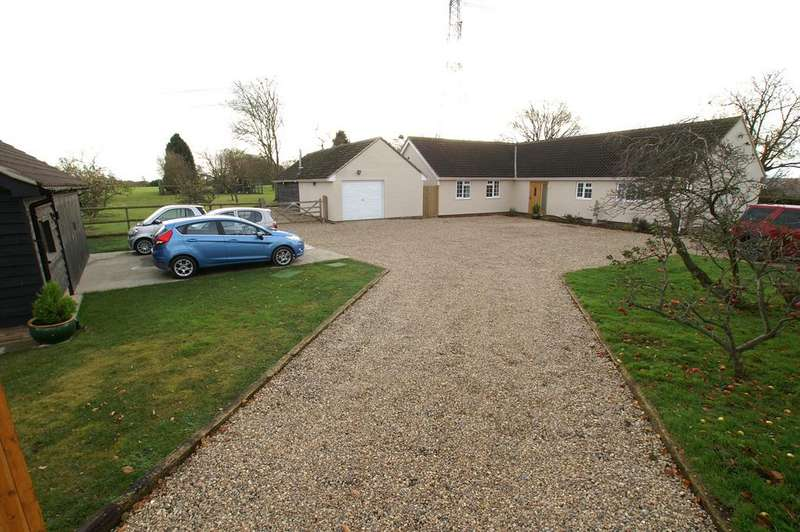 4 Bedrooms Detached Bungalow for sale in Slough Lane, Little Cornard, Sudbury CO10
