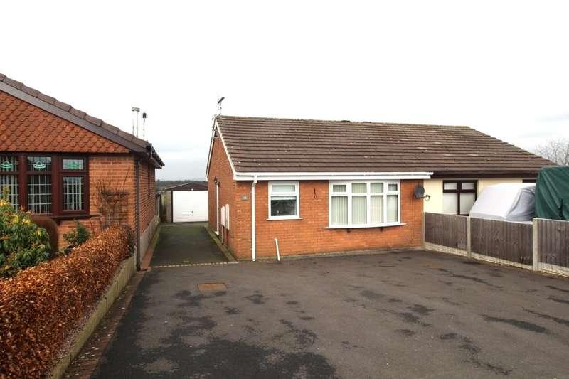2 Bedrooms Semi Detached Bungalow for rent in Rennie Crescent, Cheddleton, Leek, ST13