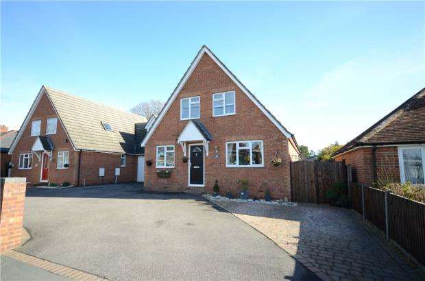 3 Bedrooms Link Detached House for sale in Branksome Hill Road, College Town, Sandhurst