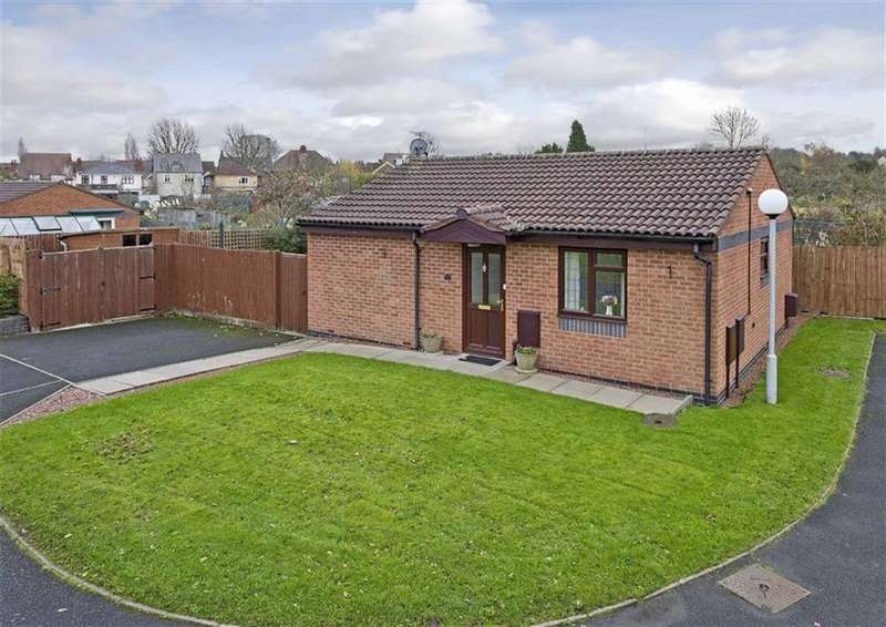 2 Bedrooms Detached Bungalow for sale in 4, Fistral Gardens, Bradmore, Wolverhampton, West Midlands, WV3