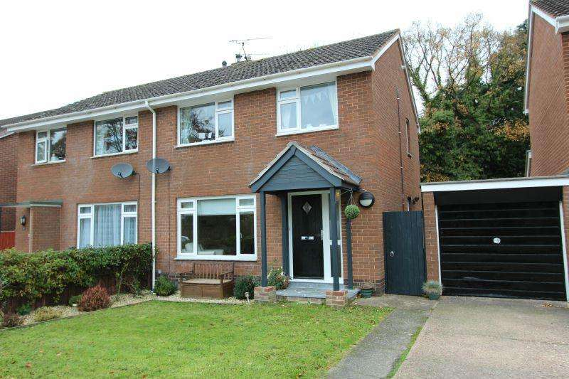 3 Bedrooms Semi Detached House for sale in COLERIDGE ROAD, OTTERY ST MARY