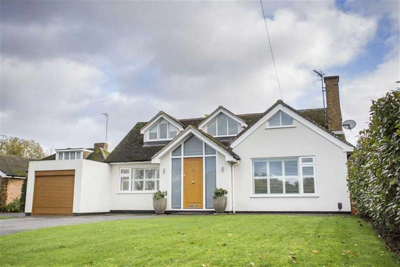 5 Bedrooms Detached Bungalow for sale in Leicester Lane, Leamington Spa, CV32