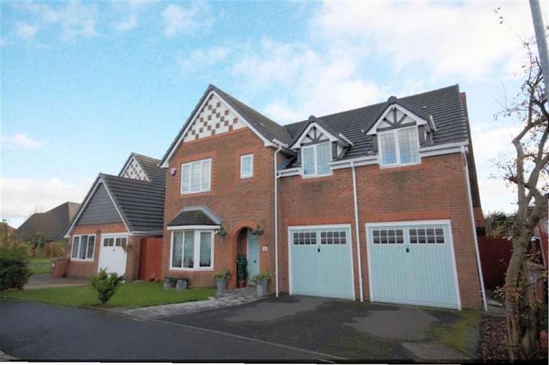 5 Bedrooms Detached House for sale in Hedworth Gardens, Nutgrove, St Helens, WA9