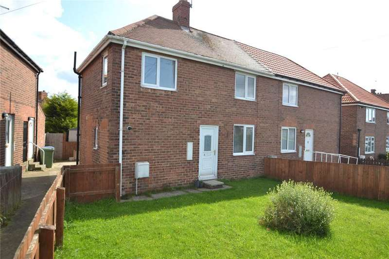 2 Bedrooms Semi Detached House for sale in Keir Hardie Terrace, Shotton, Co Durham, DH6
