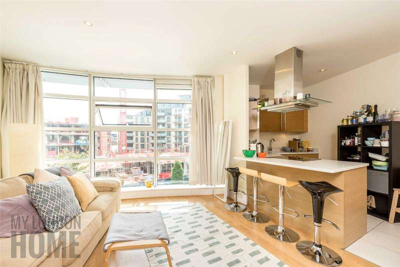 1 Bedroom Apartment Flat for sale in Commodore House, Battersea Reach, London, SW18