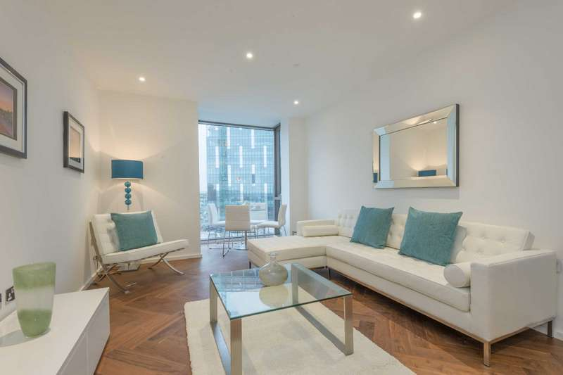 1 Bedroom Apartment Flat for sale in Ambassador Building, Embassy Gardens, Vauxhall, London, SW8