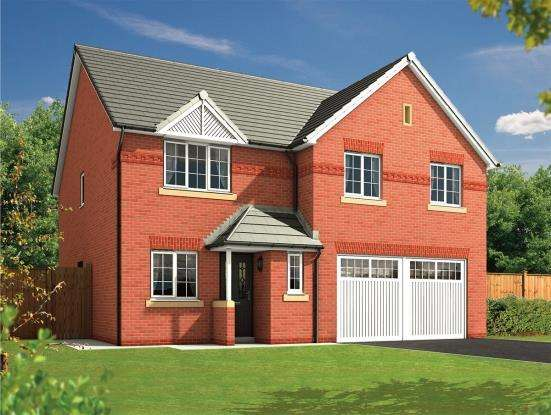 5 Bedrooms Detached House for sale in Almond Brook Road, Standish, Wigan