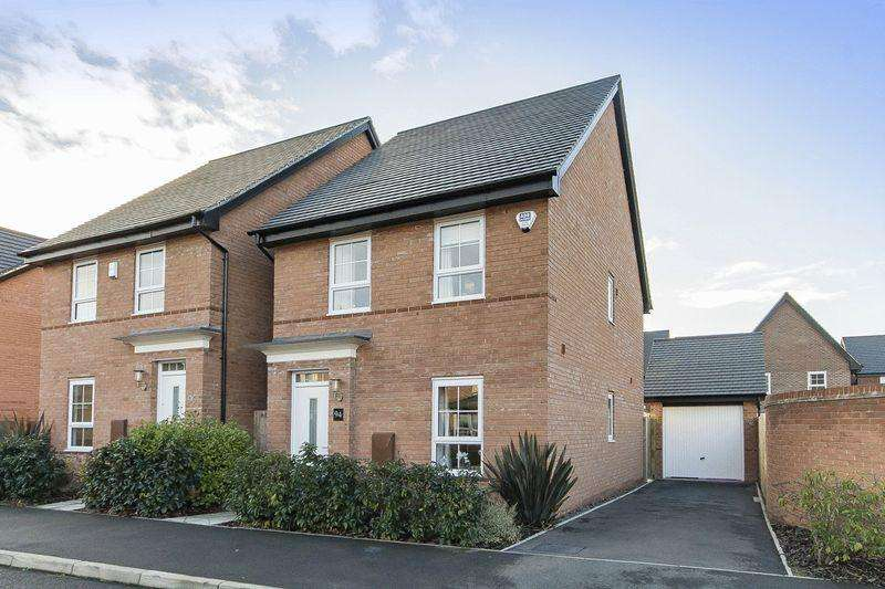 3 Bedrooms Detached House for sale in MEREVALE WAY, STENSON FIELDS