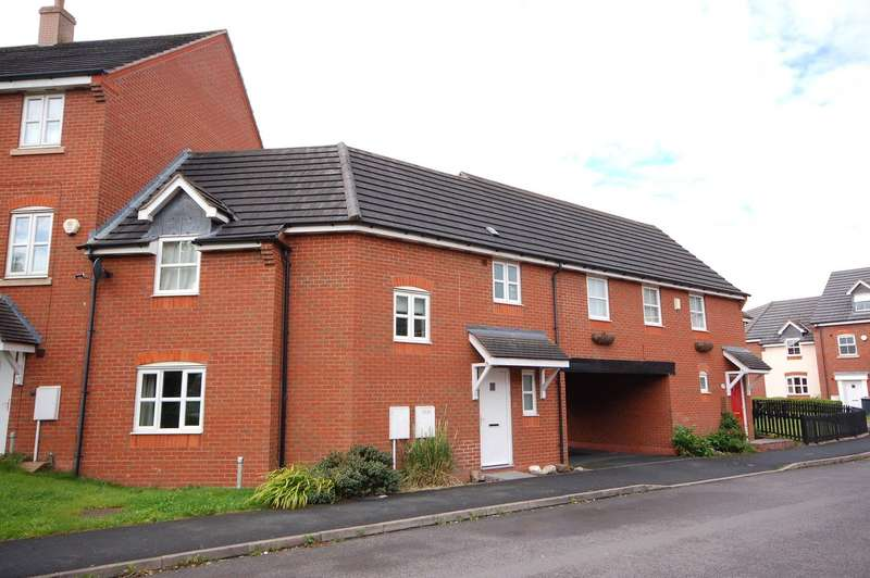 3 Bedrooms Terraced House for rent in 19 The Saplings, Madeley, Telford, Shropshire, TF7