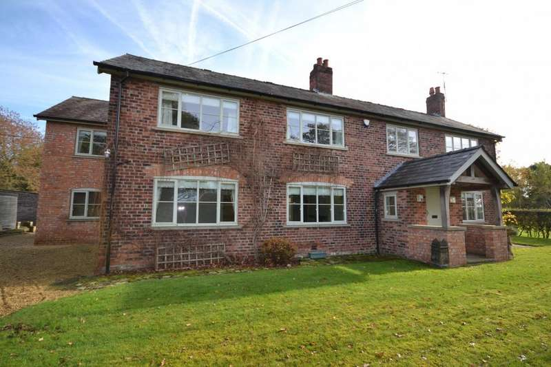 5 Bedrooms Detached House for sale in Chapel Lane, Lower Withington