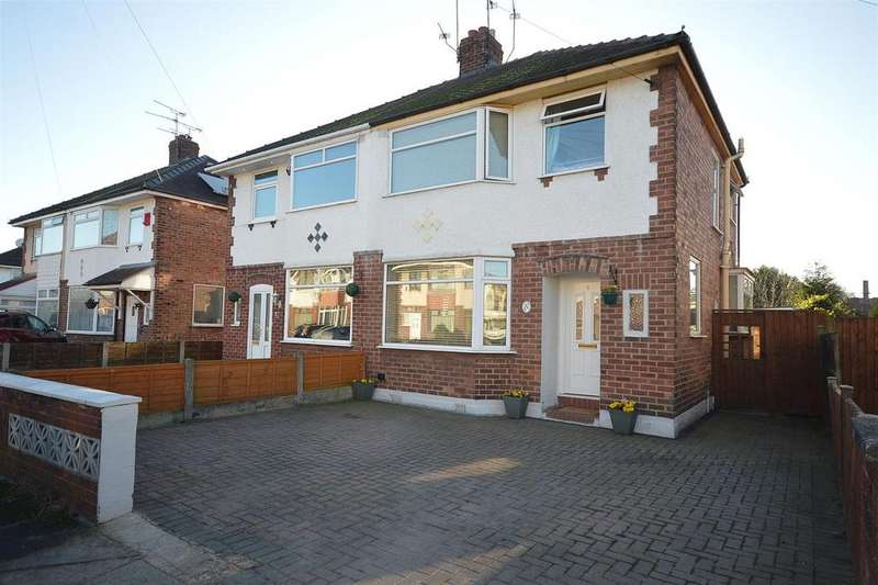 3 Bedrooms Semi Detached House for sale in Newfield Drive, Crewe