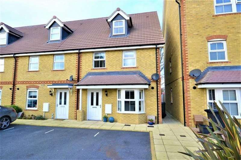 4 Bedrooms End Of Terrace House for sale in Portslade