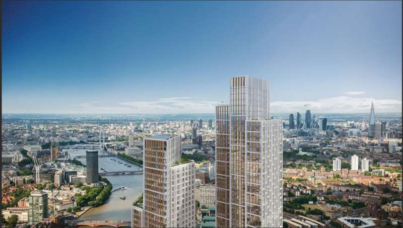 3 Bedrooms Flat for sale in One Nine Elms, River Tower, Nine Elms, SW8