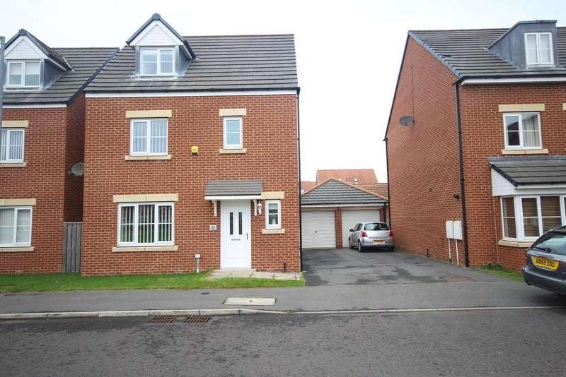4 Bedrooms Detached House for sale in Blackhaugh Drive, Seaton Delaval, NE25