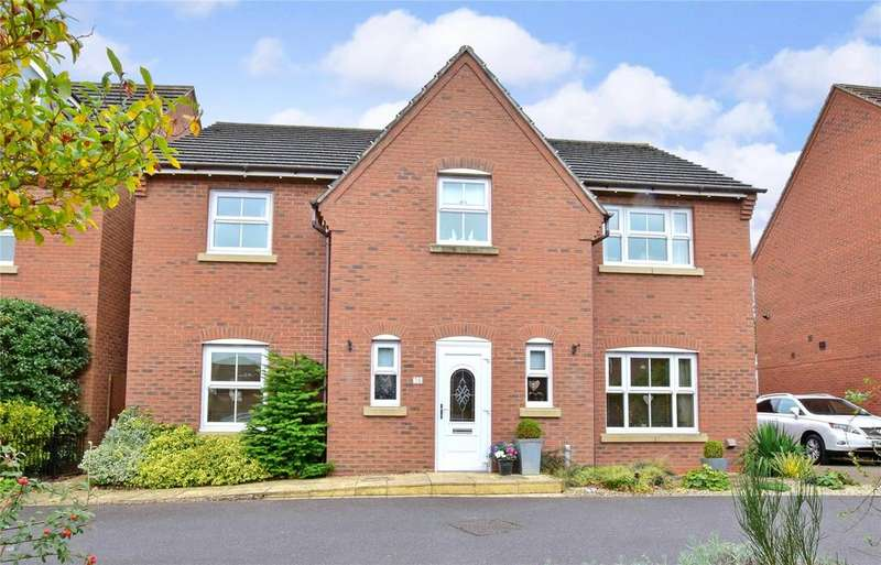 4 Bedrooms Detached House for sale in The Osiers, Mountsorrel, Loughborough
