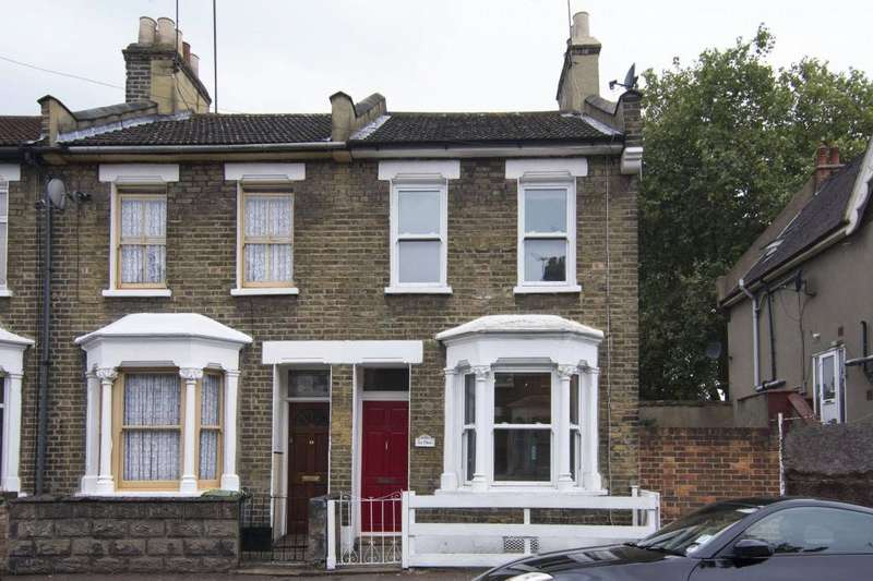 2 Bedrooms End Of Terrace House for sale in Tennyson Road, Stratford, London, E15