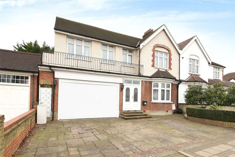 5 Bedrooms Semi Detached House for sale in Oakleigh Road North, Whetstone