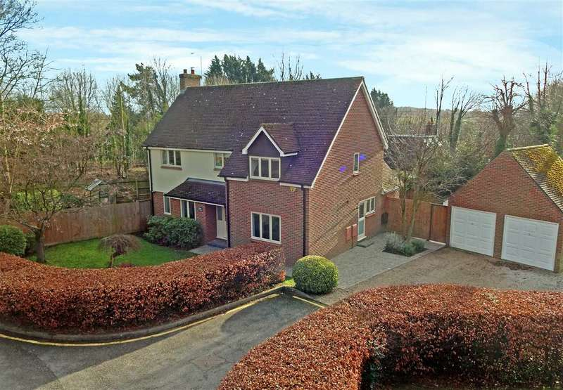 4 Bedrooms Detached House for sale in Gatehouse Mews, Ingatestone