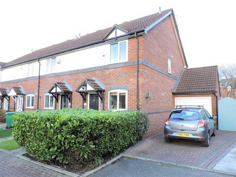 3 Bedrooms End Of Terrace House for sale in Hanlith Mews, Manchester