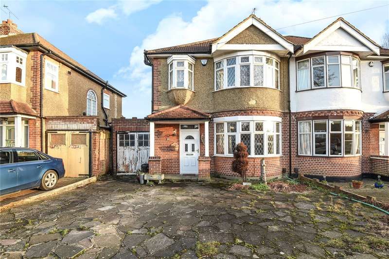 3 Bedrooms Semi Detached House for sale in Fairfield Avenue, Ruislip, HA4