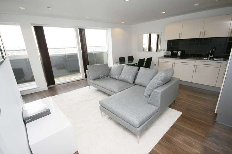 3 Bedrooms Apartment Flat for rent in Media City, Salford Quays
