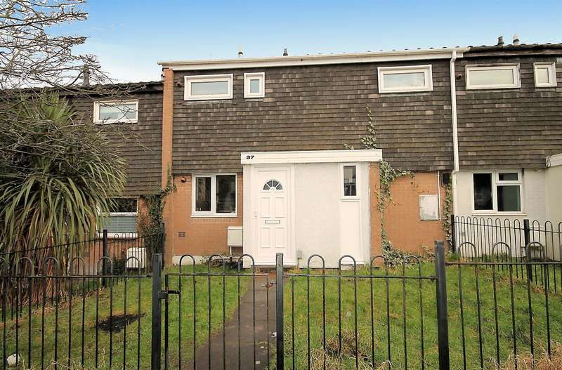 3 Bedrooms Terraced House for sale in Irwell, Belgrave, Tamworth, B77 2JH