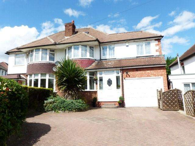 4 Bedrooms Semi Detached House for sale in Longmoor Road, Sutton Coldfield