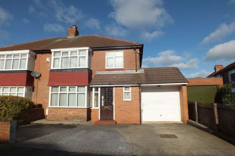 3 Bedrooms Semi Detached House for sale in Bourne Avenue, Newcastle Upon Tyne, NE4